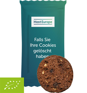 Bio-Cookie Schoko-Haselnuss