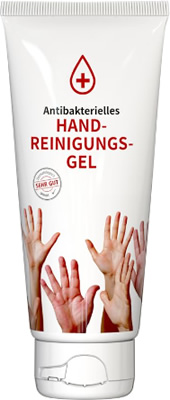 Handreinigungs-Tube 100 ml weiß