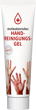 Handreinigungs-Tube 20 ml weiß