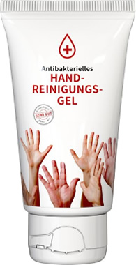 Handreinigungs-Tube 50 ml weiß