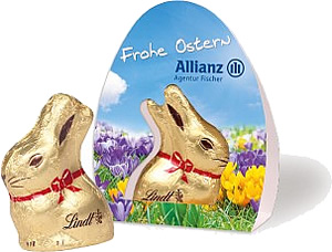 Lindt Goldhase Osterboten