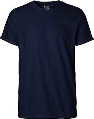 Mens Roll Up Sleeve T-Shirt