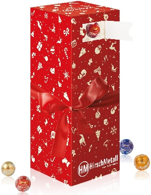 Mini-Kugeln Tower-Adventskalender